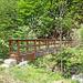 Brücke vor Alpe Val Gabbio