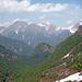 Blick richtung Pizzo Mottàc und rechts in der Mulde Alpe Scaredi