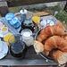 nach einem leckeren Frühstück in der Villa Praesidio ...