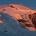 Allalinhorn mit Felsstufe