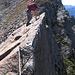 Il cavo in fondo non sarebbe così necessario ma che impressiona è la verticalità sul lato Valle di Blenio.
