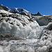 Frische Nahrung für die Turbinen und unser aller Energiehunger. Mont Brulé - Pointe Marcel Kurz und La Vierge als Zeugen der Gletscherschmelze.