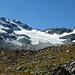 Blick zum Glacier des Écoulaies