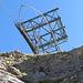 Der Ausstieg beim Mast der Bergstation Bonistock (16.9.2014 - andere Tour)