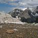 Biwakplatz auf ca. 2650m, im Hintergrund Bütlasse und Gspaltenhorn