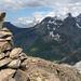 Gipfelblick nach Osten: Gspaltenhorn und BO-Dreigestirn