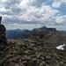 Gipfelblick NW: Grat zur Birre, auch einen Versuch wert!