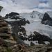 Gipfelblick S: die Blüemlisalp, Morgenhorn verdeckt