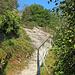Also wieder zurück, und auf dem richtigen Weg zum Einstieg des Klettersteiges