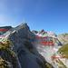 Gletscher am Säntis - heute klein und unscheinbar, vor ein paar Generationen noch beherrschend
