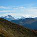 Blick in den Verwall zum Valschavieler Maderer und der wolkenverhangenen Kuchenspitze.
