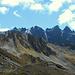 Die Madrisa und die Zacken des Frygebirgs (2741m und 2752m).