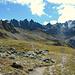 Tolles Panorama im Abstieg zum Gafiersee.