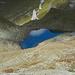 Gute 150 Hm tiefer liegt der Gafiersee.