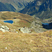 Auf der O-Seite erblickt man den Gandasee und den Speichersee beim Schafberg.