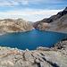 Nun wäre man beim Wildsee. Man beachte die Leute auf dem Weg zur 5-Seen Wanderung. Da waren 2-3 Schulklassen auf Schülerreise