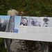 Auf gehts: Bei der Tällihütte erinnert eine Tafel an die grossartige Leistung von Sepp Inwyler anno 1960.   Klick Pic to read