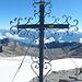 Gipfelkreuz Wildhorn. Auch wenn Gipfelkreuze immer wieder in der Kritik stehen, so finde ich sie trotzdem schön.