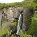 La Hundafoss sul sentiero che dal campeggio porta alla cascata Svartifoss.