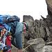 Die letzten Meter zum Point Peter auf 4757 m