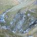 Dirupi (si intravede la traccia del sentiero sopra il dirupo a dx)