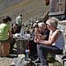 Mittagsrast bei der Ochsenlägerhütte