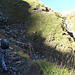 Erste grössere Steigung zum Oberfeld.