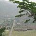 2 Tage später, endlich wieder Zivilisation! Blick auf die ehemalige Bergarbeitersiedlung Kilembe.