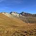 von der Fuorcla weiter auf einem Höhenweg Richtung Es-cha Hütte