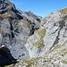 imposanter Tiefblick zur Gamchigletscher Schlucht