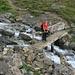 im Aufstieg zur Chamanna d'Es-cha
