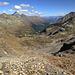 der letzte steile Abschnitt zur Schwarzhornfurgga