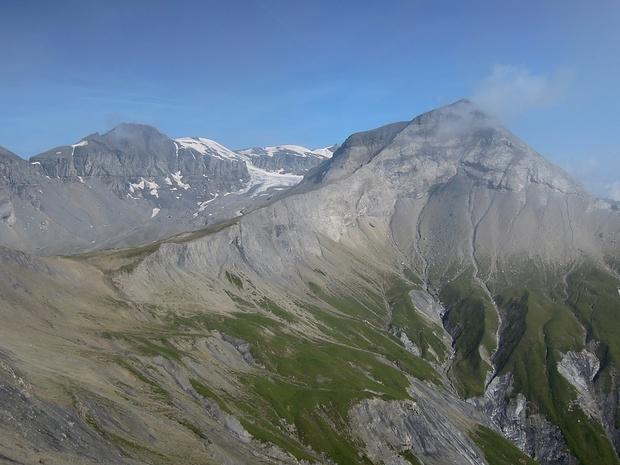 Schöner Berg! Dieses Bild wurde ein Tag nach der Tour vom Cassonsgrat aus aufgenommen