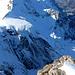 Über dem Guggigletscher tut sich 'was: ein Eisabbruch beim Jungfraujoch