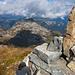 Gipfel Cheibehorn mit Wirihorn im Hintergrund