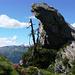 Aufstieg Catt da Ribia - Baum auf 2100m Höhe
