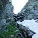 Catt da Ribia, 2363 m - Steinklötze müssen überklettert werden