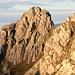 Die Kleine Klammspitze vom Klammspitzgrat. Die Grasschrofen ganz rechts