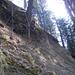 Eine senkrechte Passage am Alplispitz (Foto [U sglider])