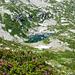 Lago del Pezz, 1979m, mit Alpenrosen