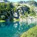 Lago del Pezz, 1979m - Gefällig lasssen sich die Lärchen spiegeln