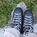 Oggi nuovi scarponi. Seguendo i consigli degli specialisti del settore, ho acquistato degli scarponi di cuoio, senza il rivestimento in Gore Tex: a tutto vantaggio della traspirazione.