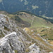 die Alpila-Alpe ist das erste Zwischenziel im Abstieg