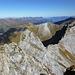Auf dem Marchegghorn - Rückblick auf den Grat