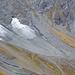 Interessanter, namenloser Mini-Gletscher mit Moränen von 1850 auf rund 2000 m.ü.M. unter den Schiben