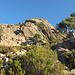 Aufstieg zum Col de l'Oiseau