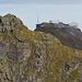 Gesammelte Gipfel: Weisshorn und Hörnli.