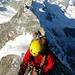 Die Kletterei ist ein Genuss!