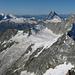 Wahnsinnskulisse Ost, praktisch alle 4000er des Alpenbogens sind sichtbar!