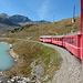 Anreise: Fahrt am Lago Bianco vorbei.
